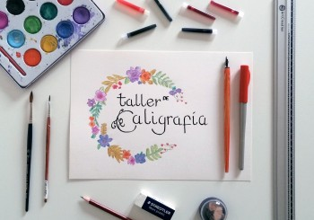 Taller de caligrafía y acuarela